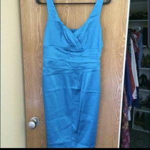 Anne Klein sky blue cocktail dress